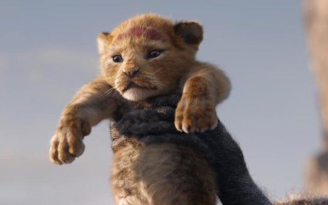 ディズニーのライオンキングのリメイクに対する最初の反応はここにあります
