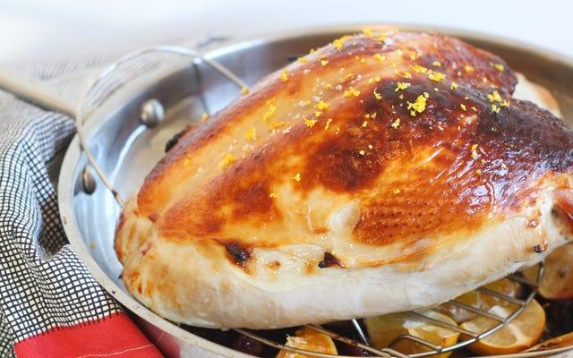 Cette saumure au babeurre fera de vous un passionné de poitrine de dinde