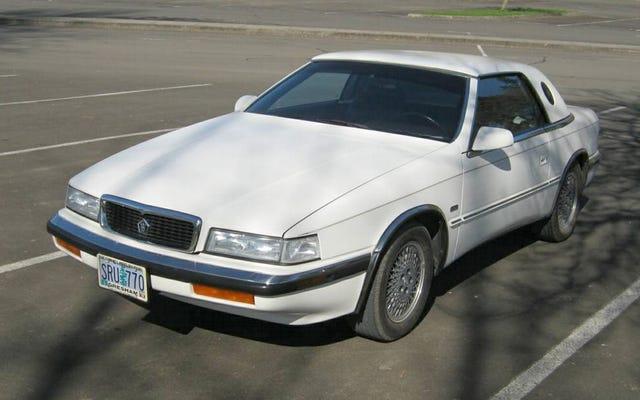 ราคา 12,000 เหรียญสหรัฐ Chrysler TC ปี 1990 โดย Maserati จี้หัวใจคุณได้หรือไม่?
