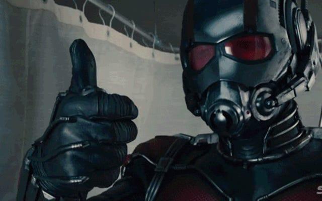 El primer tráiler de Ant-Man de Marvel es una gran excusa para un remate