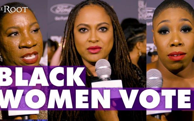 Khi phụ nữ da đen phát biểu phiếu bầu
