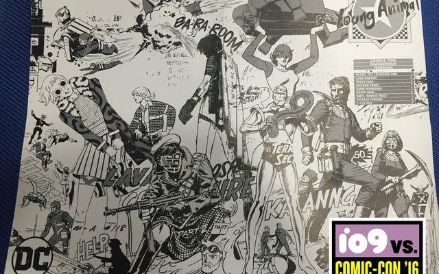 Memeriksa Komik Superhero Aneh DC Melakukan Dengan Cara Gerard My Chemical Romance