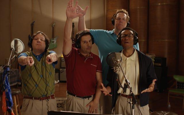 40代のボーイバンドがこの独占ティーザーで世界を救う