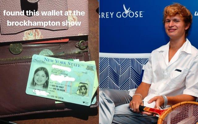 ブロックハンプトンのショーで財布のアンセル・エルゴートが見つかった女性へのインタビュー