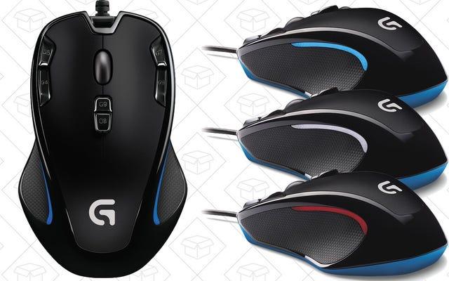 Oburęczna mysz do gier Logitech kosztuje dziś tylko 20 USD