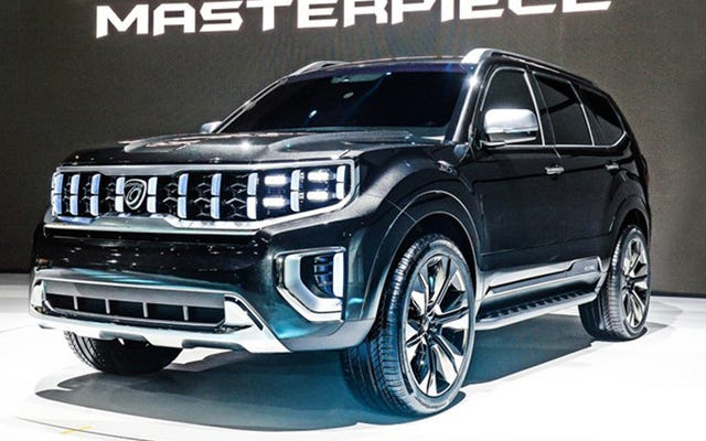 Kia nommant son concept SUV `` chef-d'œuvre '' est un peu riche
