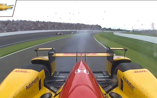 I problemi di affidabilità di Honda hanno appena eliminato uno dei leader della Indy 500 [Aggiornamento: e un altro]