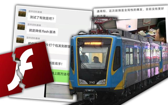 AdobeがFlashコンテンツの実行を停止したとき、中国の鉄道も停止しました