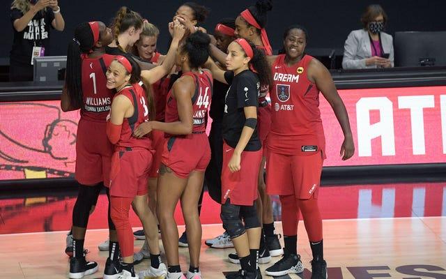 調査によると、WNBAはラルフ・ワーノック牧師の上院議員をピボットポイントで走らせた
