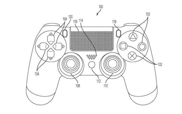 Olası Dokunmatik Ekran Playstation Denetleyicisinde Sony Patent İpuçları