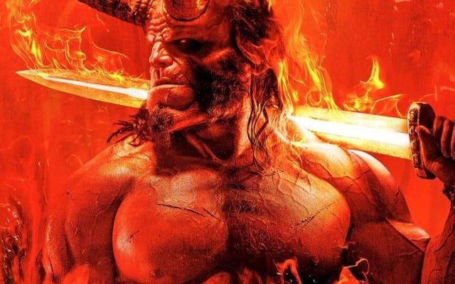 Le premier goût du redémarrage de Hellboy est violent, effronté et un enfer de beaucoup de plaisir