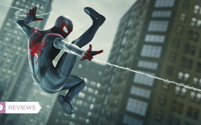 スパイダーマン:マイルズモラレスは前作よりも小さくて強いゲームです