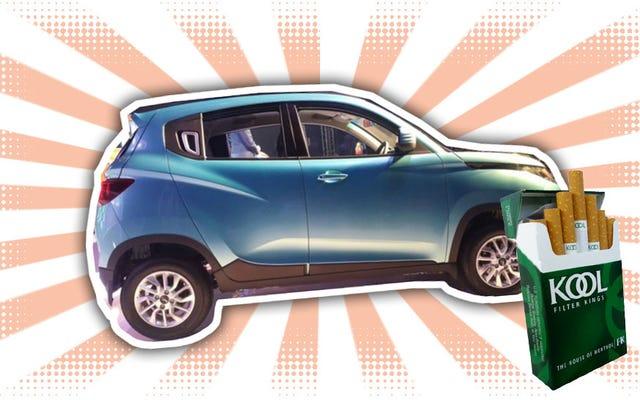 Le premier SUV non diesel de Mahindra ressemble à une petite Jeep de dessin animé
