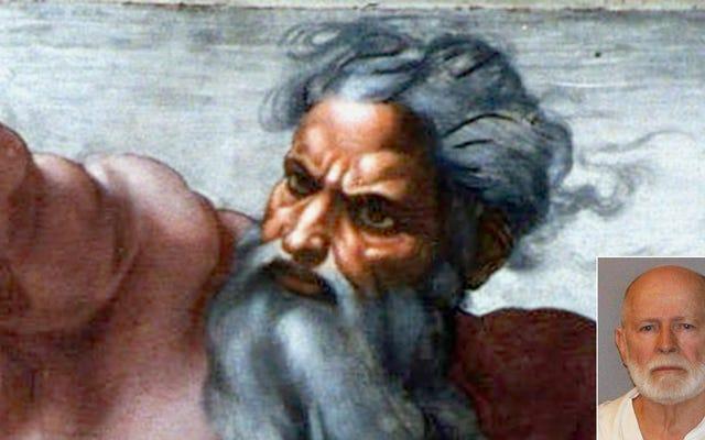 भगवान ने पुष्टि की कि व्हाइटी बुलगर को सूंघने के लिए नर्क भेजा गया