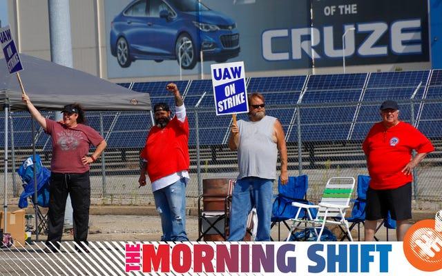 GM e gli operai della UAW in sciopero si preparano a una lunga battaglia