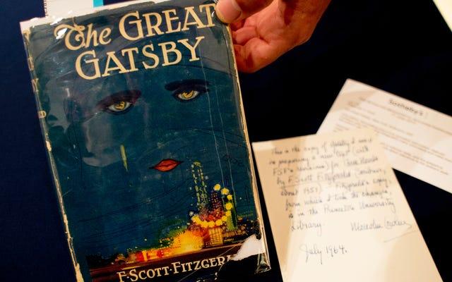 Writ Largeポッドキャストは、あなたがすでに意見を持っていると思われる本、The GreatGatsbyに取り組んでいます