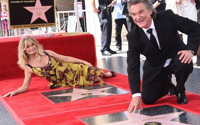 ¿Quién necesita matrimonio cuando tienes estrellas vecinas en el Paseo de la Fama de Hollywood?