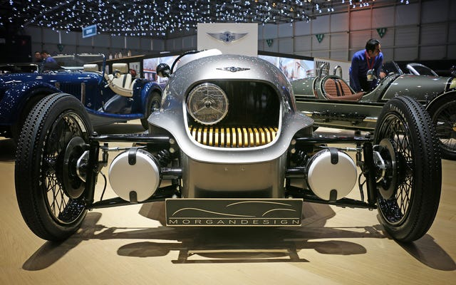 モーガンの電気三輪車は驚きに満ちています