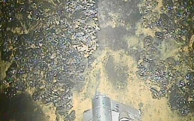 福島フライドポテトクリーンアップロボット内部の過度の放射線