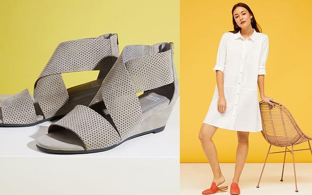 Nordstrom Rack'tan İndirimli Eileen Fisher Kıyafetleri ve Ayakkabılarıyla Gardırobunuzu Sınıflandırın