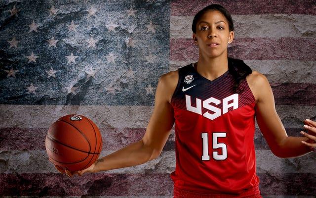 レポート:キャンデースパーカーが米国オリンピックバスケットボールチームを辞任