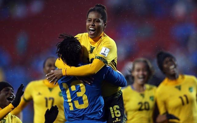 ジャマイカが国初の女子ワールドカップバースを獲得