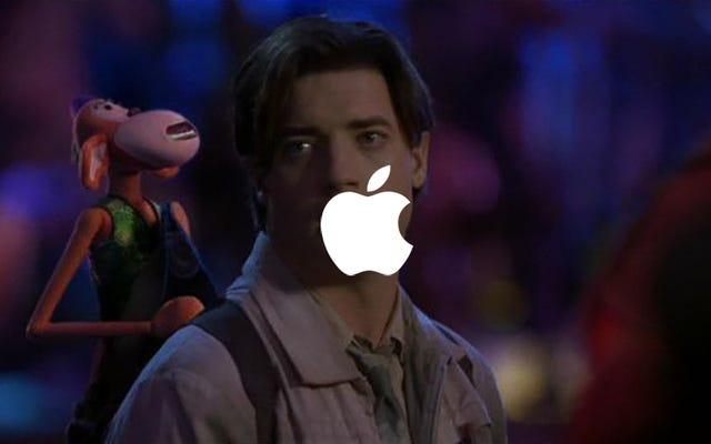 アップルは最初の兆ドルの会社かもしれませんが、2001年のブレンダンフレイザー映画のモンキーボーンがNetflixにないことを信じられますか?