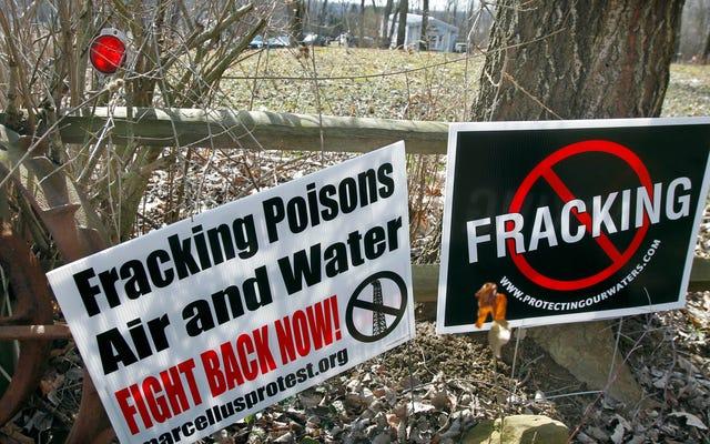 Fracking Akış Akışını Azaltabilir