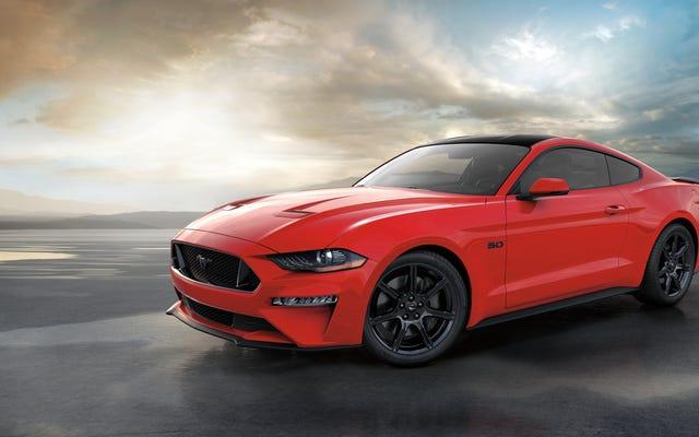 フォードはちょうどその1000万番目のムスタングを作りました