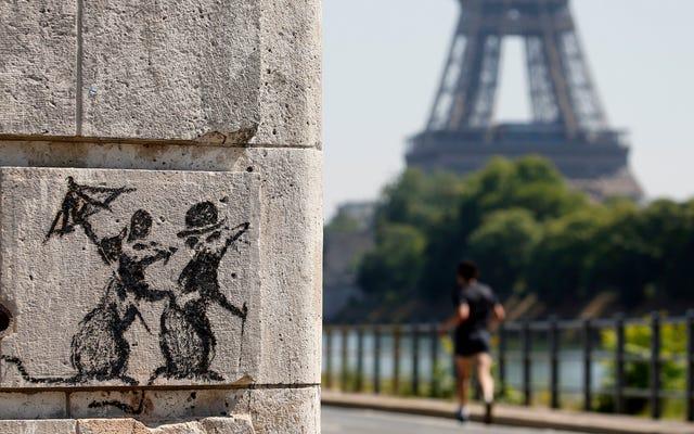 Von den belgischen Behörden beschlagnahmte Banksy-Kunstwerke, es sei denn, dies ist nur mehr Banksy-Bullshit