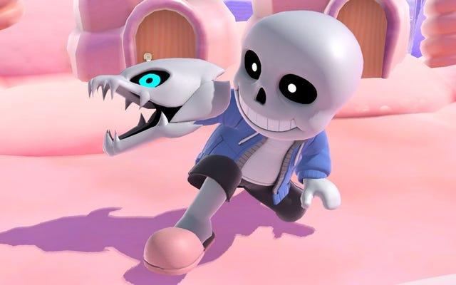 Undertale's Sans dołącza do Smash Bros. jako kostium wojownika Mii