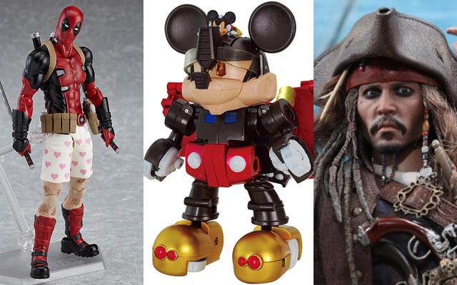 Микки Маус становится трансформером, и остальные самые крутые игрушки, которые мы видели на этой неделе