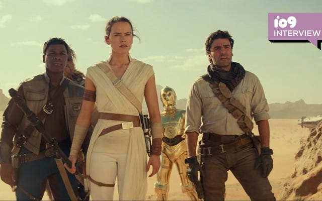 Kathleen Kennedy của Star Wars trên Con đường dài để kết thúc câu chuyện của Skywalker