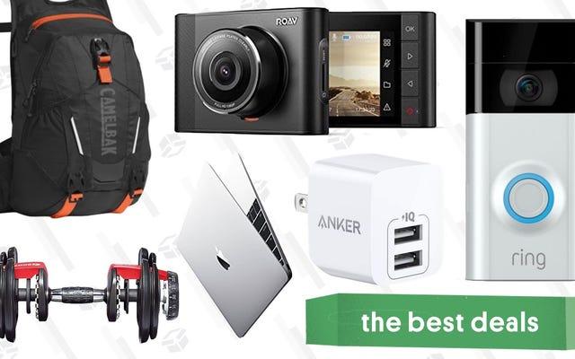 Las mejores ofertas del miércoles: MacBooks, mancuernas ajustables, Dash Cams y más