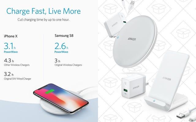 Ankerの新しいQiパッドがより高速なワイヤレスiPhone充電をサポート-発売時に最大20%節約