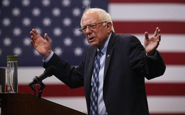 Bernie Sanders, Seçim Karşıtı Bir Demokrat İçin Kampanya Yapma Kararını Savunuyor