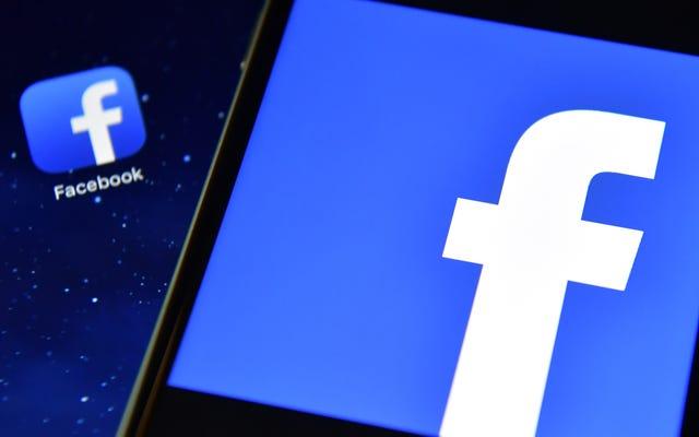 Facebook dice que un 'cambio de configuración' es la razón por la que muchos usuarios se desconectaron el viernes