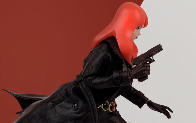 Black Widow được hoạt hình cho hình hành động siêu cách điệu này