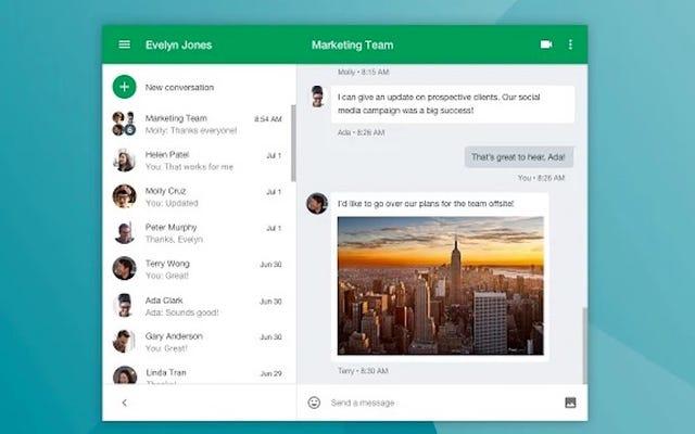 Rozszerzenie Google Hangouts działa teraz bardziej jak jego własna aplikacja