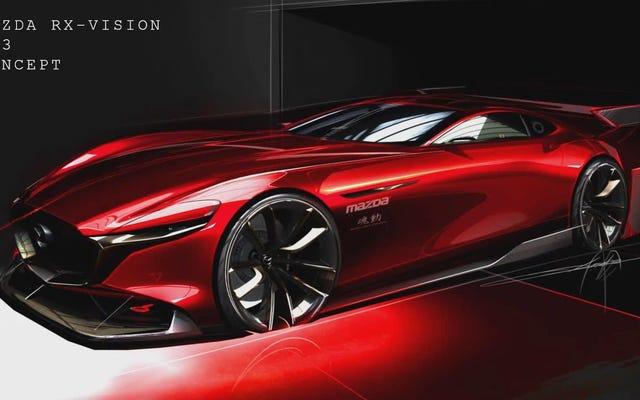 Arrêtez de vous taquiner et offrez-nous déjà le RX-Vision GT3, Mazda