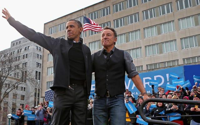 Bruce Springsteen y Barack Obama están presentando un podcast juntos