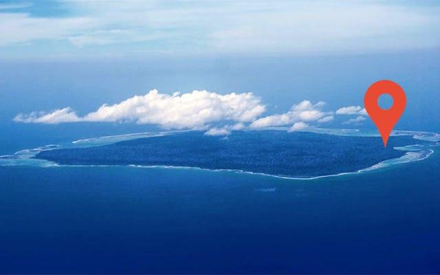 何百ものトロルがノースセンチネルの禁断の島をグーグルのスターツーリストの目的地に変えます