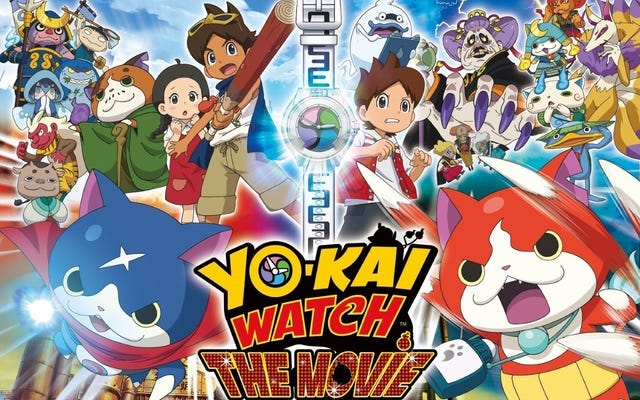 La primera película de Yo-Kai Watch llega a los cines norteamericanos el próximo mes