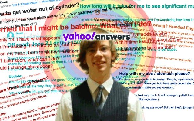 Estas son las preguntas más tontas sobre autos que hice en Yahoo Respuestas como un adolescente incómodo