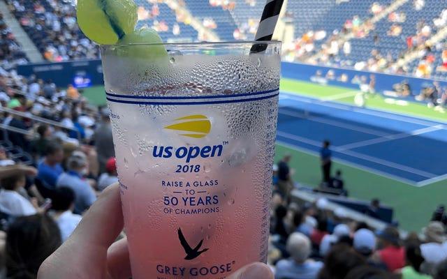 PSA: Probabilmente avrai accesso a snack e bevande gratuiti agli US Open. Controlla il tuo portafoglio.