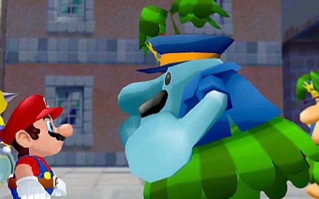 Super Mario Sunshine'ın tuhaflığı GameCube'de tam anlamıyla evindeydi
