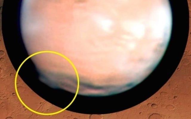 火星に現れた神秘的な巨大な雲には、すでに考えられる説明があります:太陽