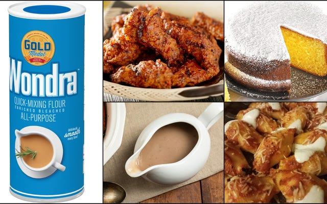 ワンドラの素晴らしさ、インスタントミキシング小麦粉