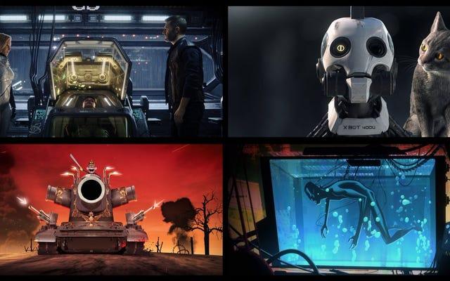ファイトクラブとデッドプールのディレクターによる新しいNetflixシリーズのLove、Death&Robotsの最初の画像