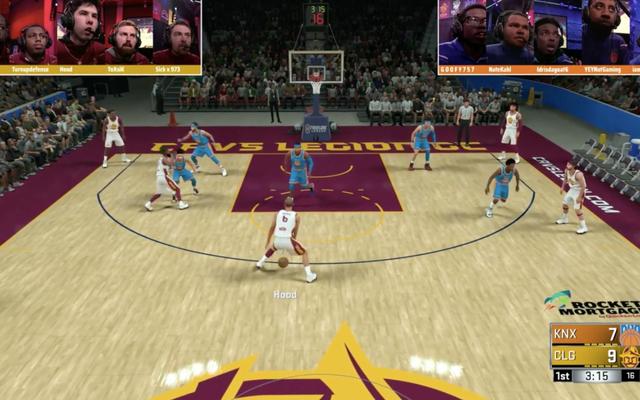 Bất chấp những nỗ lực tốt nhất, NBA 2K League không thể đánh bại điều thực sự